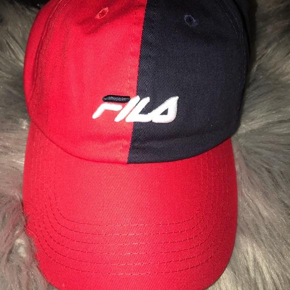 ecae2f0d33d Fila baseball cap dad hat